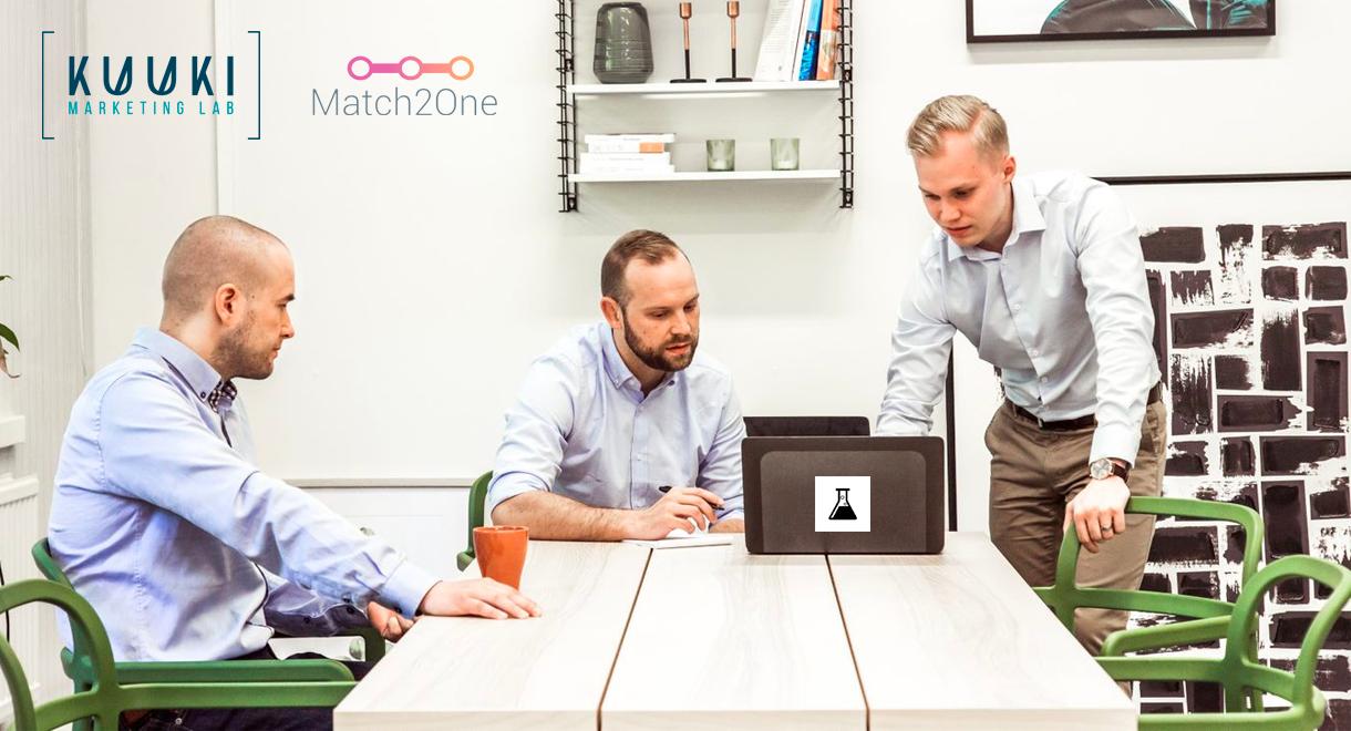 Match2Onen ohjelmallisen ostamisen alustan hinnoittelu muuttui 1.9.2019 SaaS-malliin