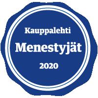 Kauppalehti Menestyjät logo, 2020